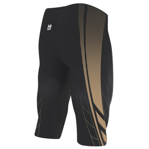 Costum baie competitie TYR Jammer AP12 Compression High Short Credere Print