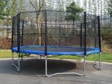 Trambulina + plasa protectie 4.87 m