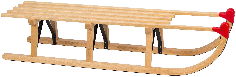 Sanie lemn Davos, 110 cm