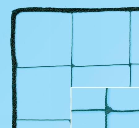 Plasa protectie cu nod, fir 2mm, ochi 13x13 cm