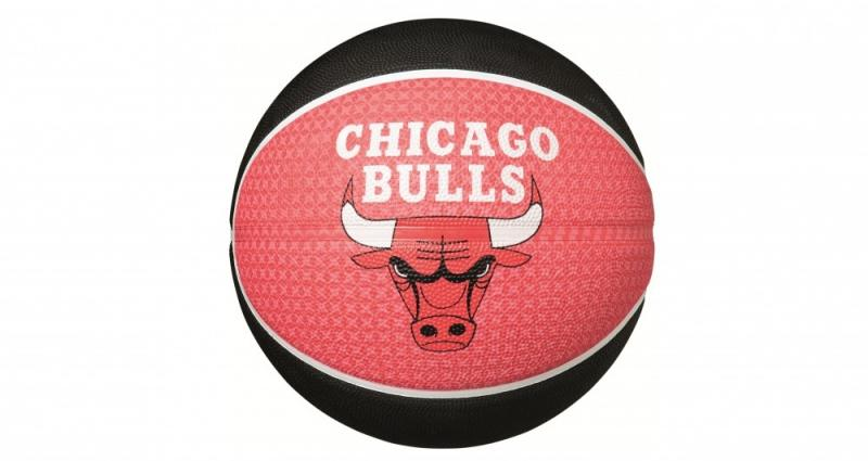 Minge de baschet Spalding Chicago Bulls nr. 7