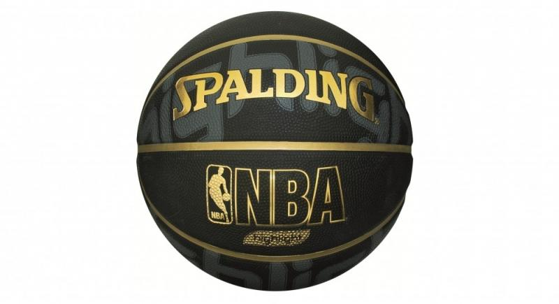 Minge de baschet Spalding NBA Highlight Black nr. 7