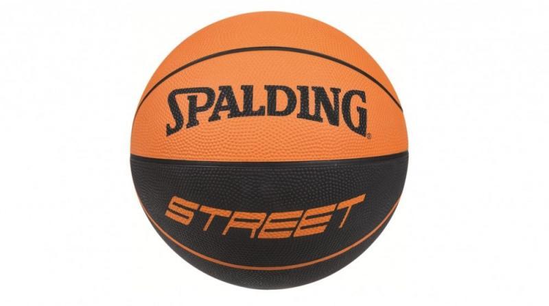 Minge de baschet Spalding NBA Street Soft Touch Rubber nr. 7