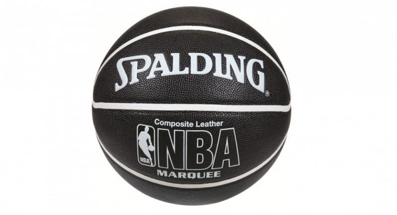 Minge de baschet Spalding NBA Marquee Black Indoor/OutDoor nr. 7
