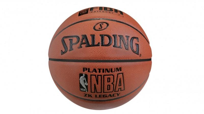 Minge de baschet Spalding NBA Platinum Legacy nr. 6