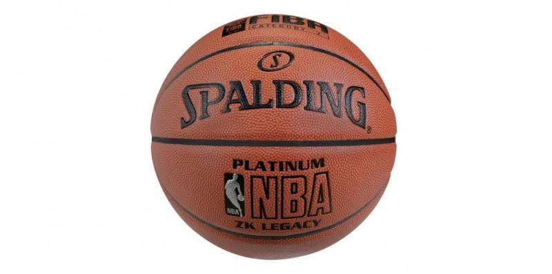 Minge de baschet Spalding NBA Platinum Legacy nr. 7