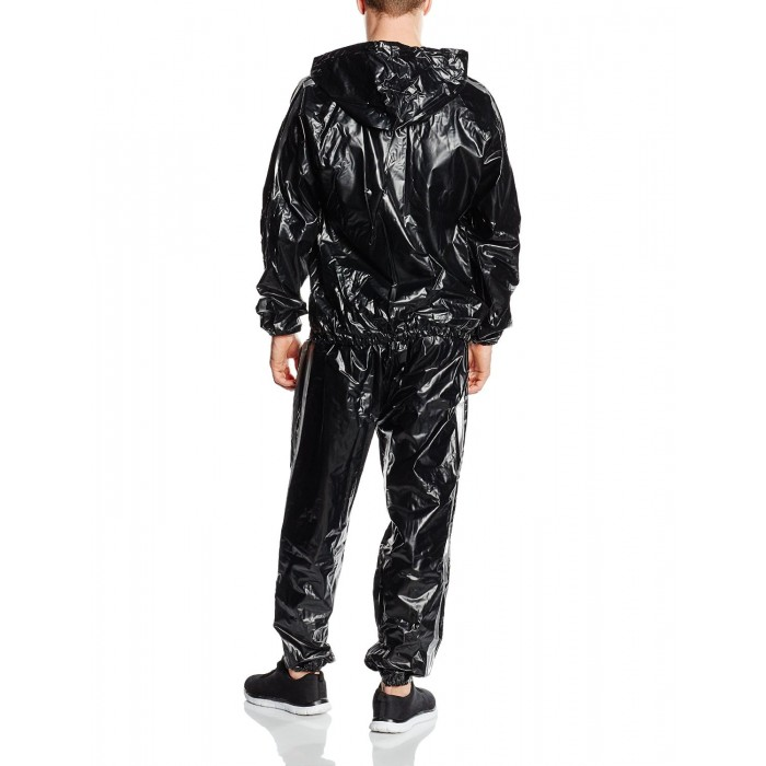 Costum sauna PVC cu gluga Everlast