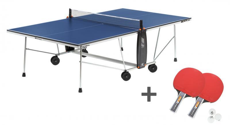 Masa tenis Cornilleau Sport 100 Indoor + Set Cornilleau Duo