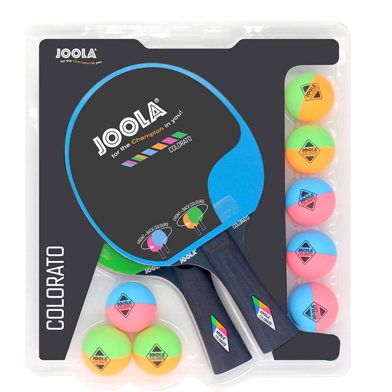 Set tenis de masa Joola Colorata, Multicolor