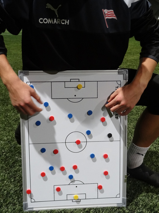 Tabela Tactica fotbal 45x60 cm
