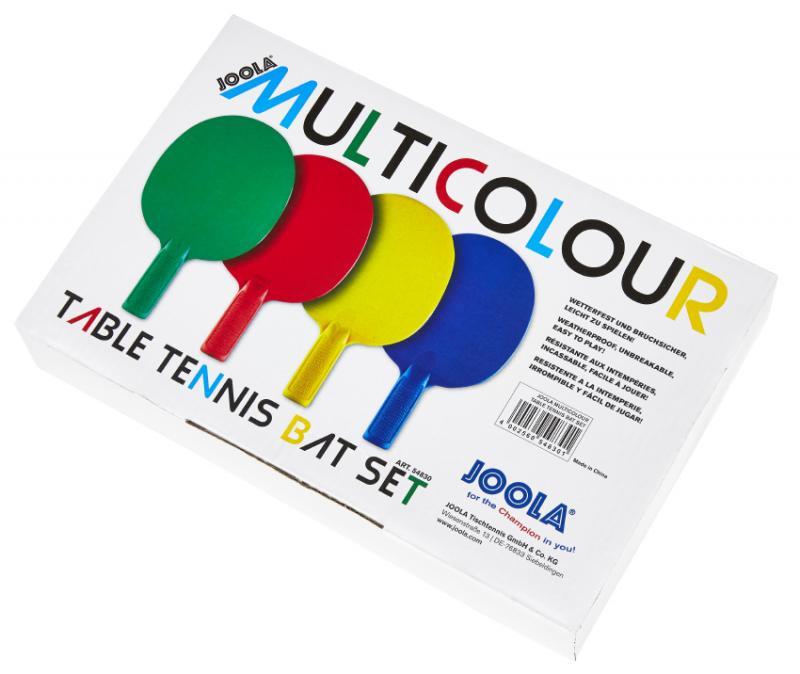 Set palete Joola Multicolour
