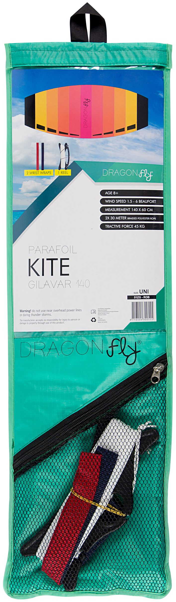 Zmeu Kite Dragon Fly Gilavar 140