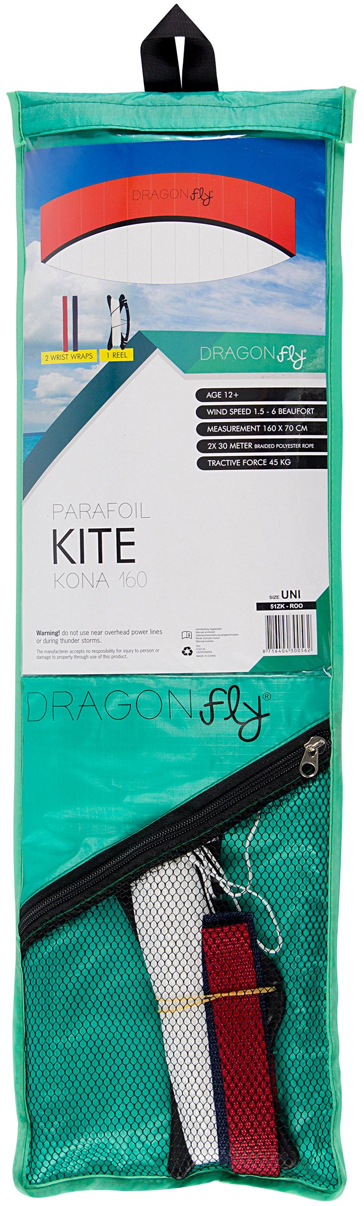 Zmeu Kite Dragon Fly  Kona 160