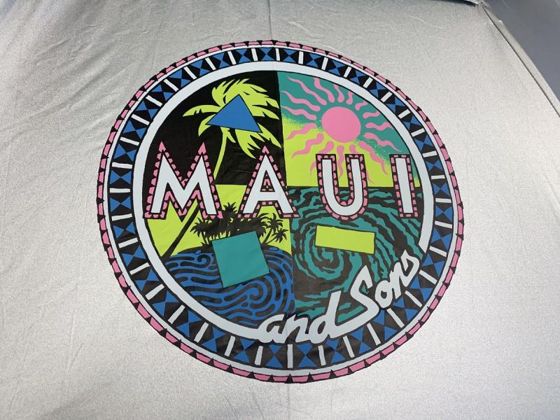 Umbrela Maui and Sons 190 cm, UPF50+,albastru