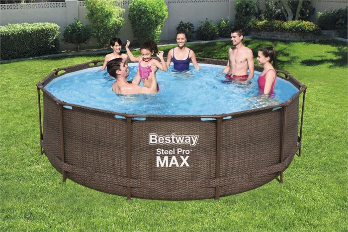 Piscina Bestway Steel Pro MAX Deluxe Series, 366 cm
