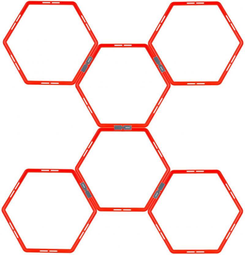 Scara agilitate - hexagon - 6 piese