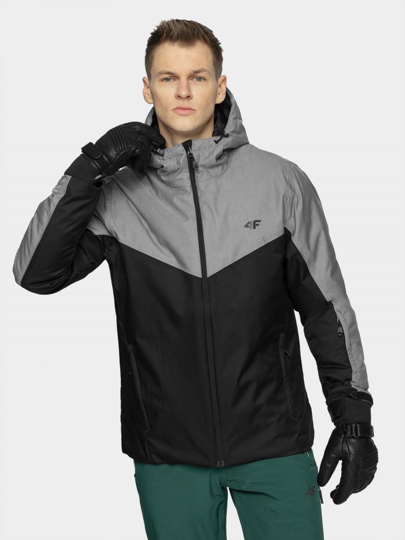 Geaca ski barbati 4F Cold Grey