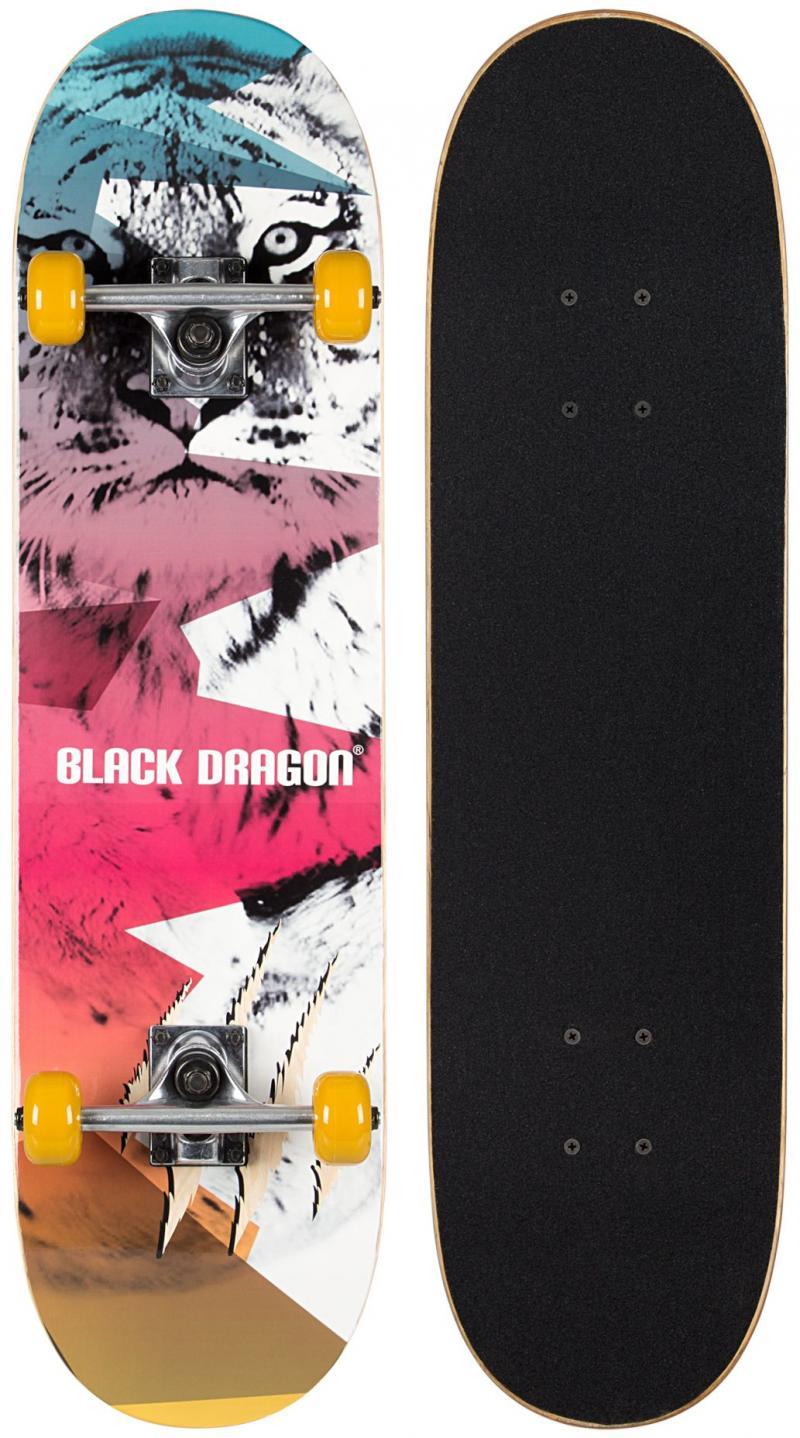 Skateboard Black Dragon Street Natives