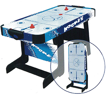 Masa air hockey Spartan pliabila