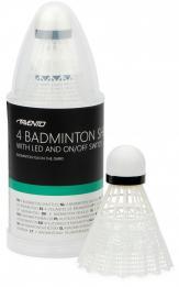 Set 4 fluturasi badminton Avento, LED