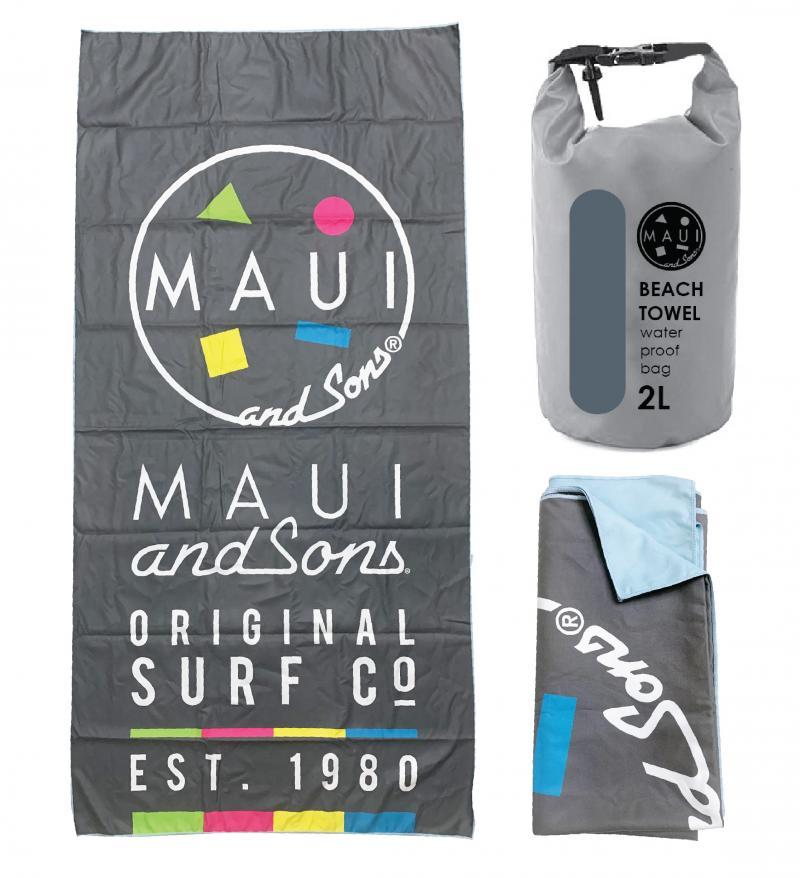 Prosop plaja microfibra Maui & Sons