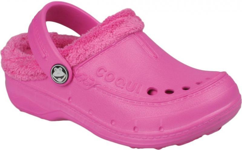 Papuci copii Coqui roz
