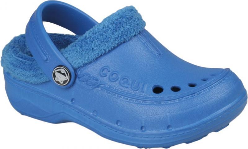 Papuci copii Coqui albastru