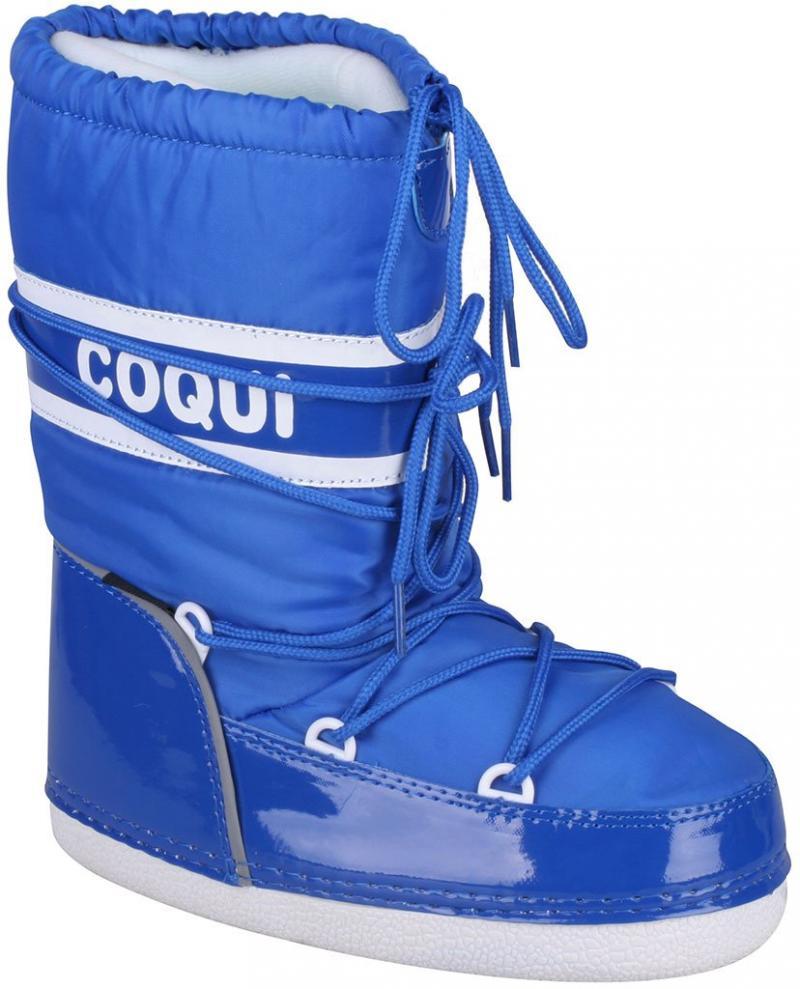 Cizme iarna copii Coqui albastre