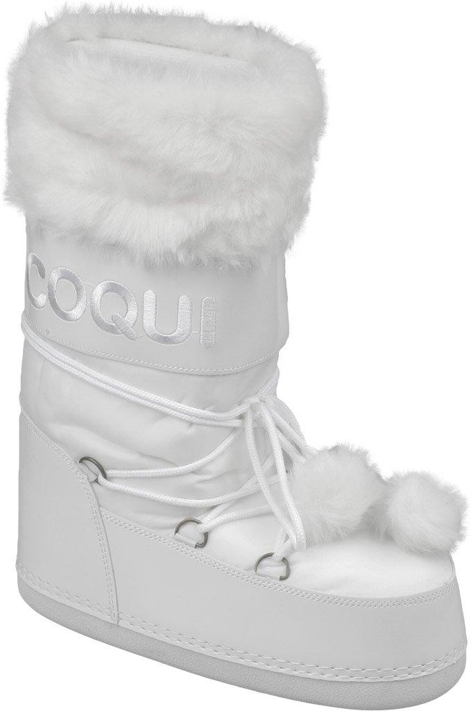 Cizme iarna dama Coqui Tuva alb