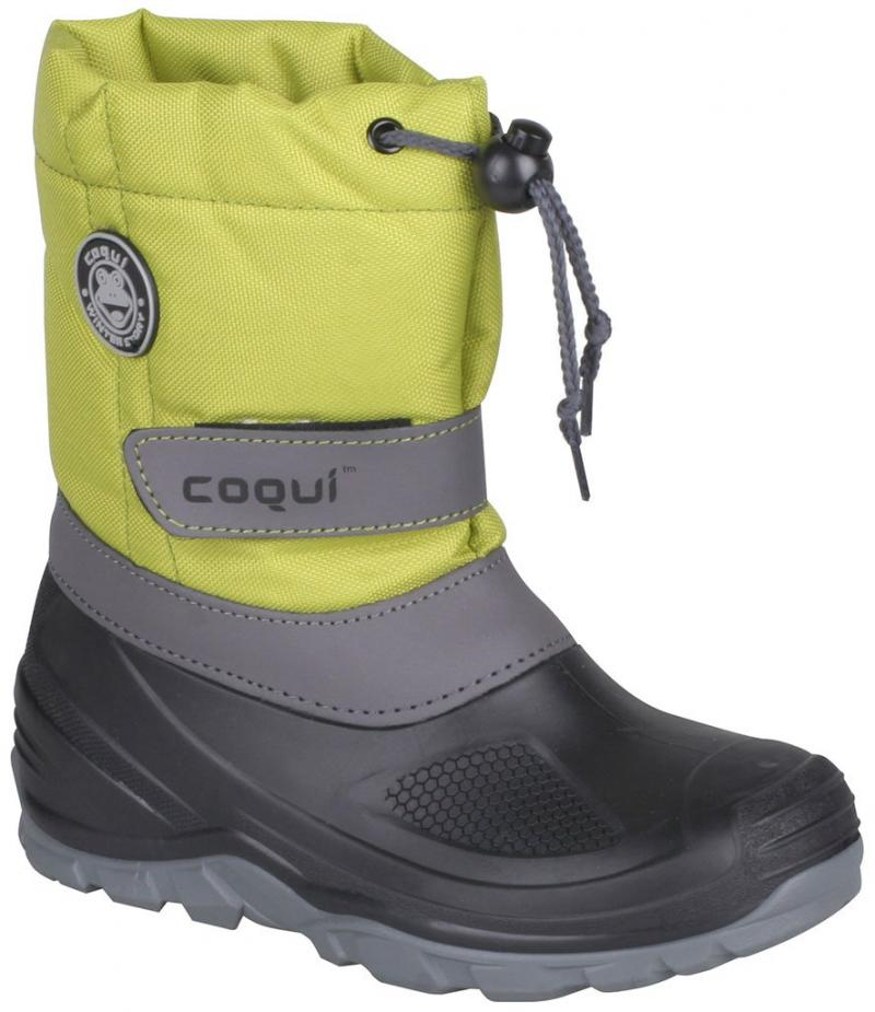 Cizme iarna copii Coqui Verde
