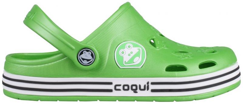 Papuci copii coqui froggy lime