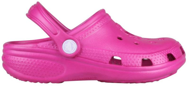 Papuci copii coqui big frog roz inchis