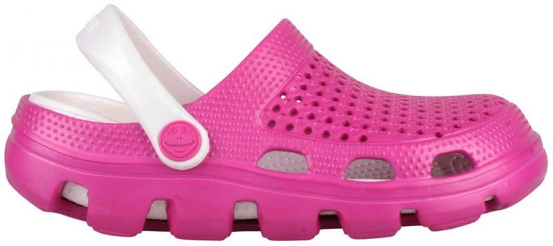 Papuci copii coqui bugy roz/alb