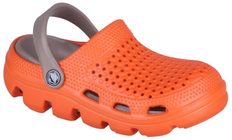 Papuci copii coqui bugy portocaliu/bej