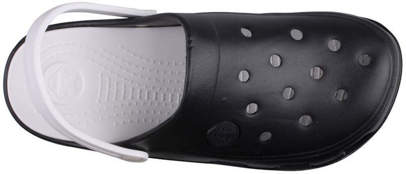 Papuci femei coqui bodee negru/alb