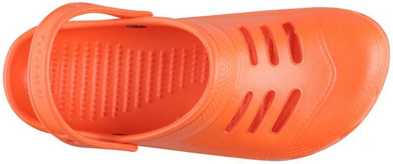 Papuci barbati coqui Kenso portocaliu