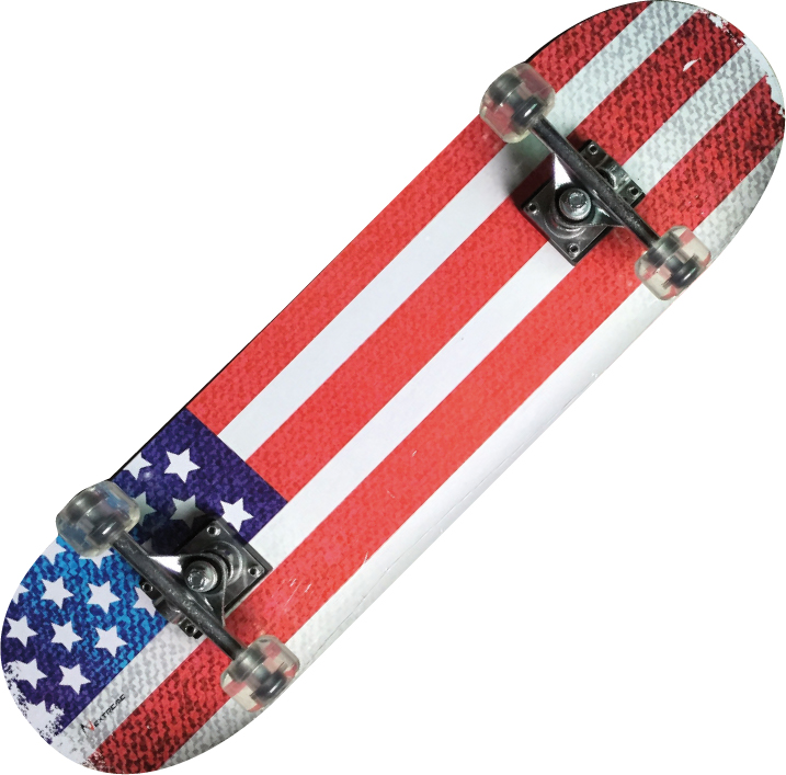 Skateboard Nextreme Tribe Pro USA FLAG