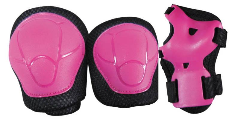 Set protectii Nextreme copii roz