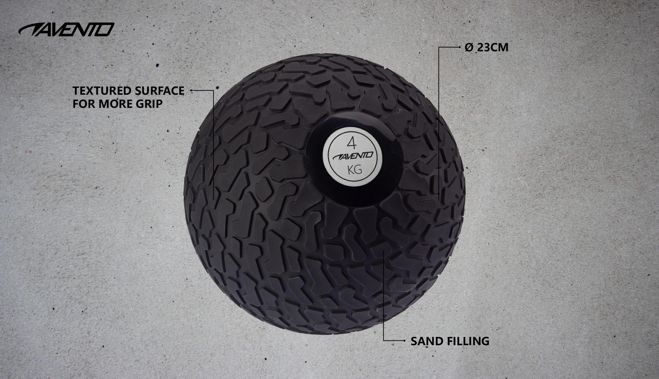 Minge Slam Ball Textured, 4 Kg