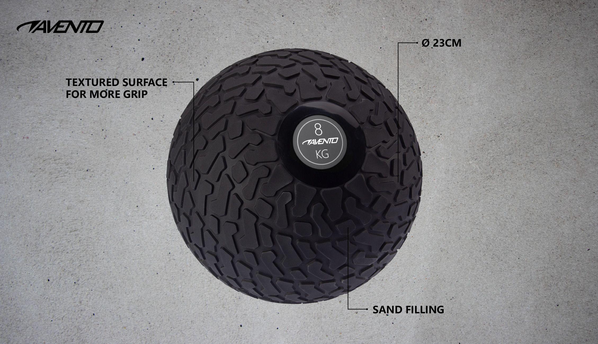 Minge Slam Ball Textured, 8 Kg