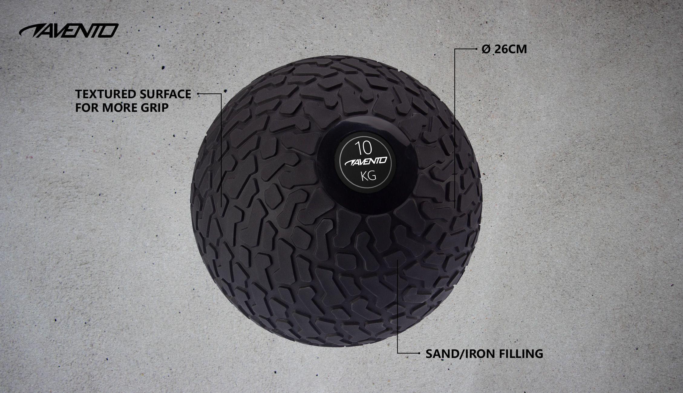 Minge Slam Ball Textured, 10 Kg
