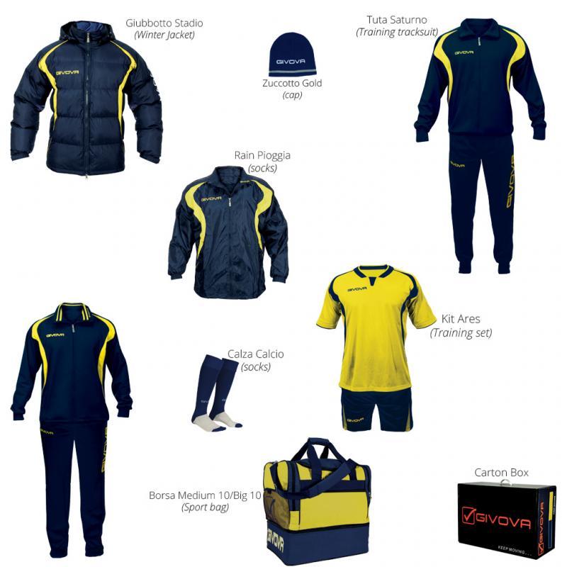 Set echipament  Givova Box