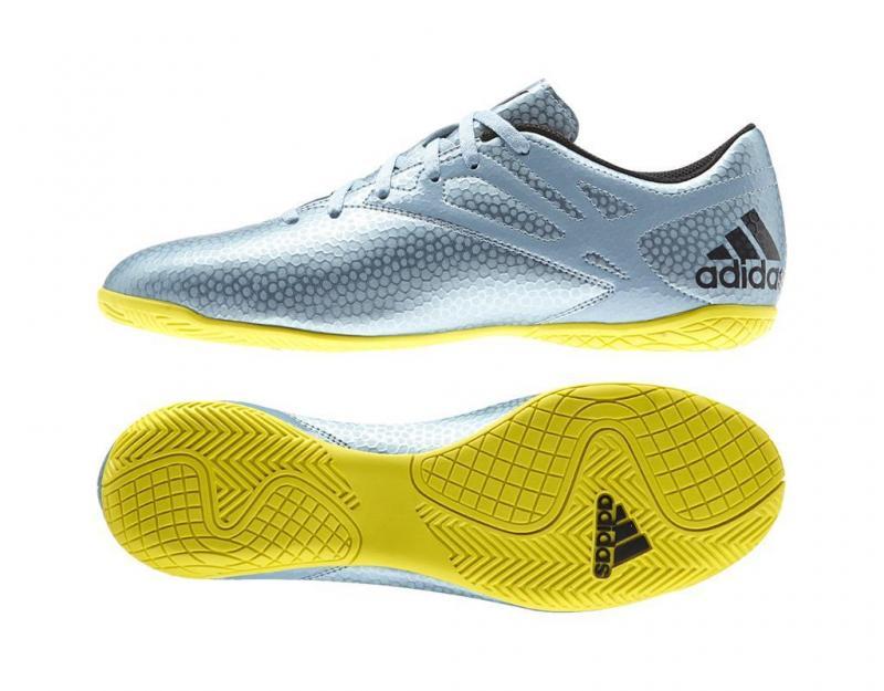 Ghete fotbal Adidas Messi 15.4 IN