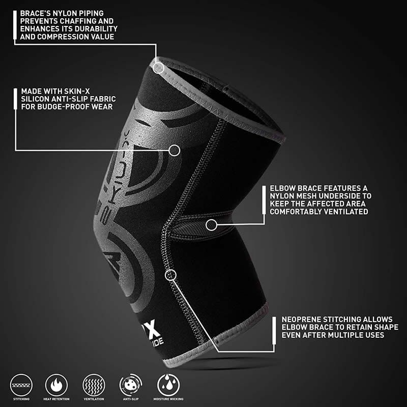Protectie cot, neoprene, RDX L/XL
