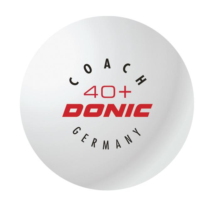 Mingi Donic Coach 40+ alb