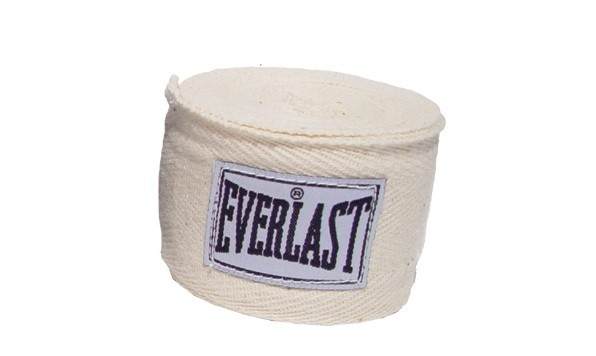 Set bandaje flexibile Everlast alb 3m