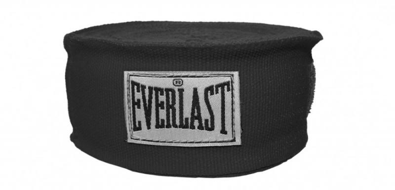 Set bandaje flexibile Everlast negru 3m