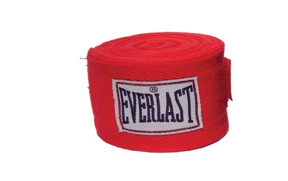 Set bandaje flexibile Everlast rosu 3m