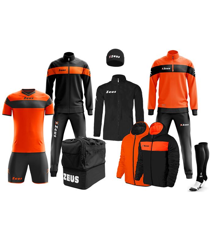 Box Zeus Apollo negru/portocaliu fluo