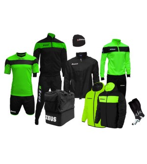 Box Zeus Apollo negru/verde fluo